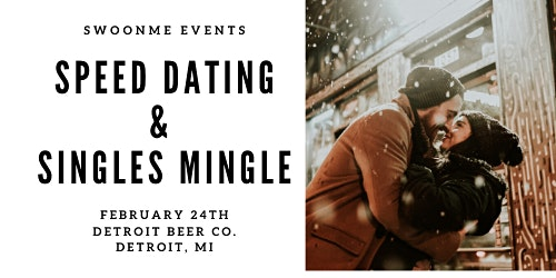Speed Dating at Detroit Beer Co. Ages 25-40