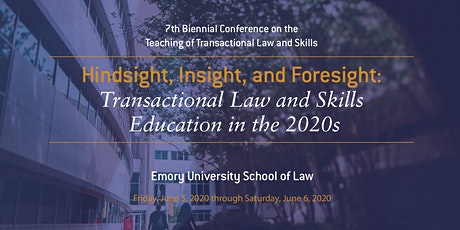 Hindsight, Insight, and Foresight:  Transactional Law and Skills Education tickets