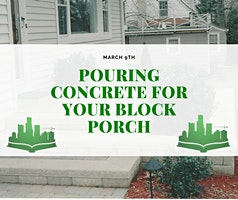 Pouring Concrete For Your Block Porch