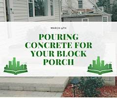 Pouring Concrete For Your Block Porch