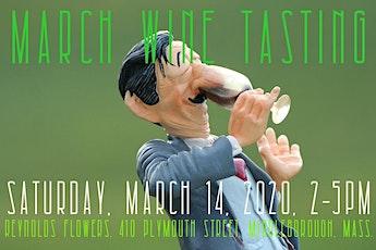 March Wine Tasting tickets