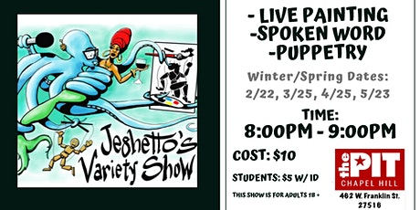 Jeghetto's Variety Show tickets