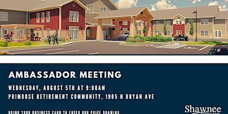 Ambassador Meeting - Primrose Retirement Village tickets