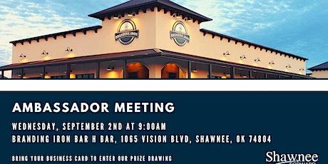 Ambassador Meeting - Branding Iron Bar H Bar tickets