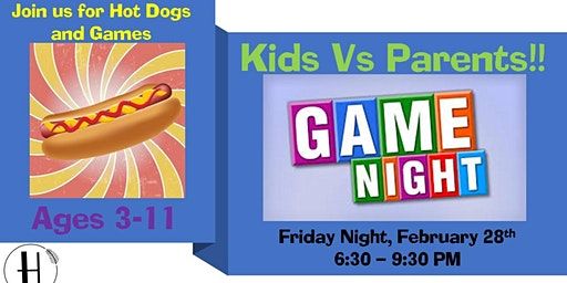 Kids Game Night