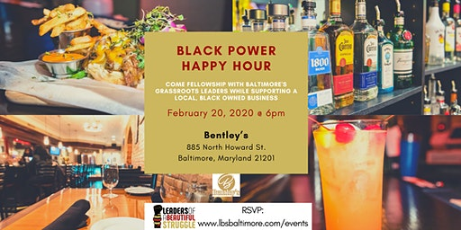 Black Power Happy Hour - Feb 2020