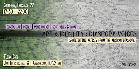 Art & Identity: Diaspora Voices tickets
