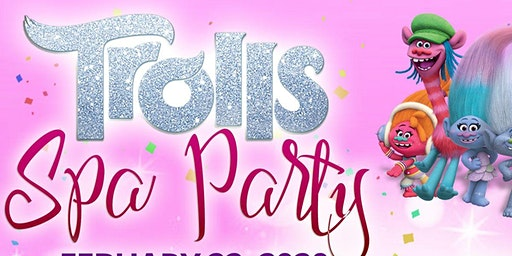 Pretty Princess Spa Boutique Presents: Trolls Spa Party