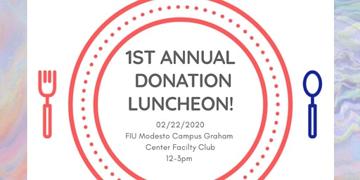 1st Annual Donation Luncheon