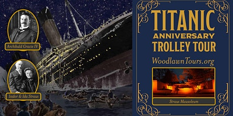 Titanic Anniversary Trolley Tour tickets