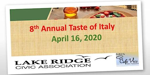 Taste of Italy - 2020
