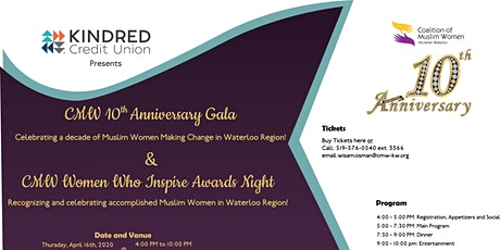CMW 10th Anniversary Gala and Awards Night tickets