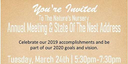 Nature's Nursery Annual Meeting