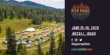 Open Roads Fest 2020 tickets