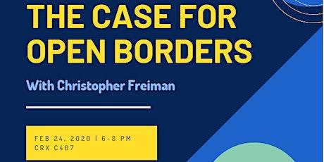 The Case for Open Borders // Le cas pour l'ouverture des frontières billets
