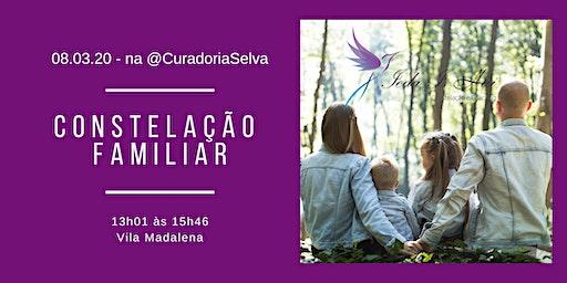 WORKSHOP DE CONSTELAÇÃO FAMILIAR COM IEDA I. HAI  NA CURADORIA SELVA