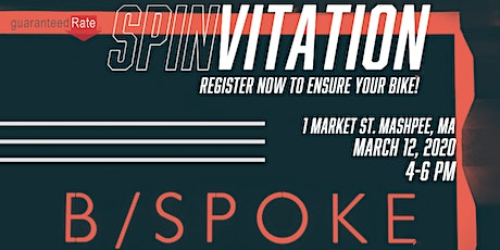 B/You @ B/Spoke Spin Event tickets