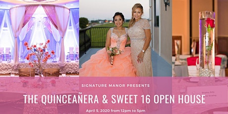 Quinceaneras & Sweet 16 Open House tickets