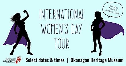 International Women's Day Tour: family tour tickets