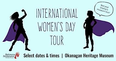 International Women's Day Tour: family tour