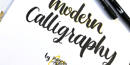 Modern Calligraphy by PupocoARTS