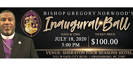 Bishop Gregory Norwood Inaugural Ball tickets