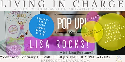 POP UP!  Crystals and Chakras with Lisa Fontanella