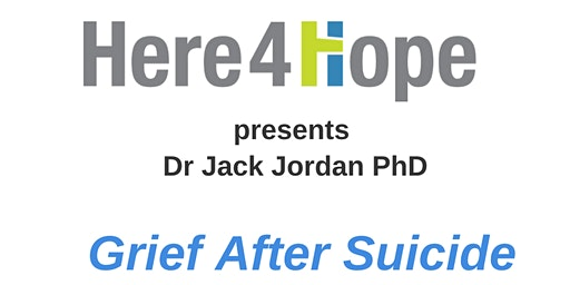Grief After Suicide Finding Hope & Healing