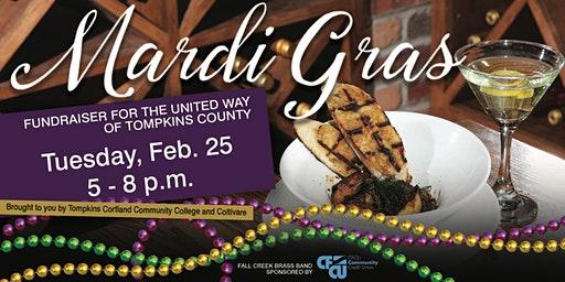 Mardi Gras Fundraiser for United Way of Tompkins County
