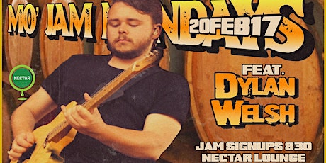 Mo' Jam Mondays ft Dylan Welsh tickets