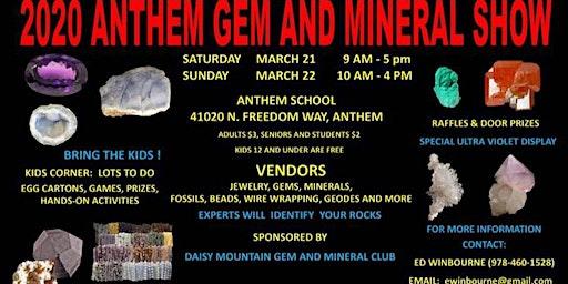 2020 Anthem Gem & Mineral Show