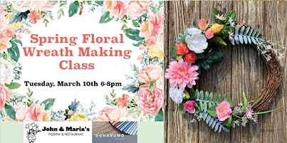 Spring Floral Wreath Making Class