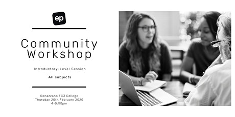 EP Community Workshop - Kew tickets