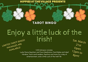 Hippes At The Village Presents TAROT BINGO!