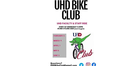 UHD Faculty & Staff Ride tickets