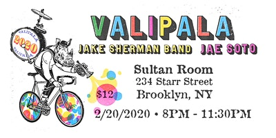 Valipala+%28EP+Release%29%2C+Jake+Sherman+Band%2C+Jae