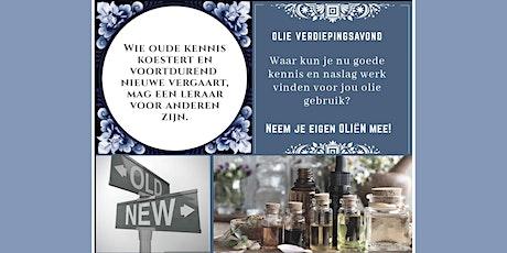 Olieverdiepingsavond Eindhoven 25 maart 2020 tickets