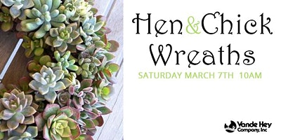 Hen and Chick Wreaths