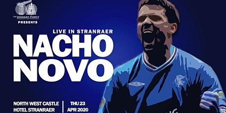 Nacho Novo - Live in Stranraer tickets