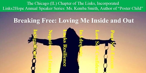 """Chicago (IL) Links Links2Hope Annual Speaker Series: Ms. Kemba Smith, Author of """"Poster Child"""""""