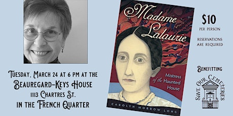 Madame Lalaurie, Mistress of the Haunted House tickets