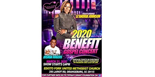 2020 Benefit Gospel Concert Featuring Le'Andria Johnson and Joshua Rogers