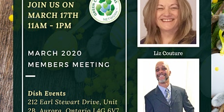 Green Connections Network March 2020 Meeting tickets