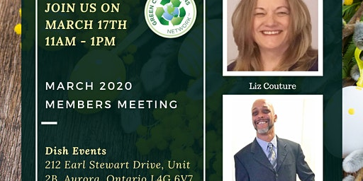 Green Connections Network March 2020 Meeting