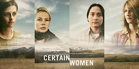 "DePaul's VAS Presents ""Certain Women"" with Director Kelly Reichardt tickets"