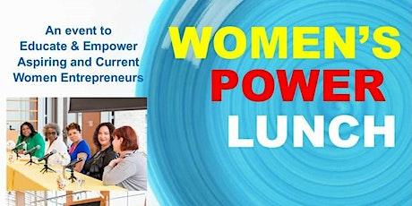 Women's Power Luncheon - Celebrating the Entrepreneurial Spirit in Women tickets