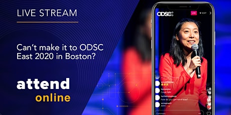 FREE Live Streaming Access to Opening Keynotes | ODSC East 2020 tickets