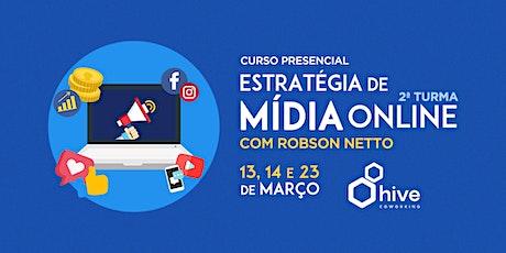 Curso: Estratégia de Mídia Online - 2ª Turma tickets