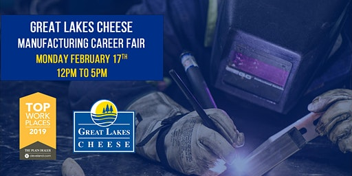 Manufacturing Career Fair - Great Lakes Cheese