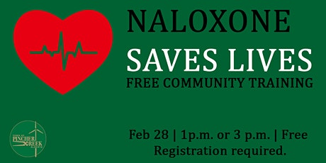 Take Home Naloxone tickets